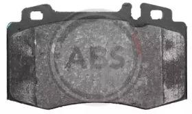 Комплект тормозных колодок, дисковый тормоз 37149 A.B.S.