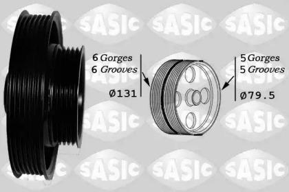 Ременный шкив, коленчатый вал 2156063 SASIC