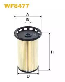 Топливный фильтр WF8477 WIX FILTERS