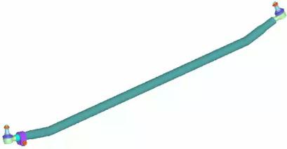 Поперечная рулевая тяга 37232 01 LEMFORDER